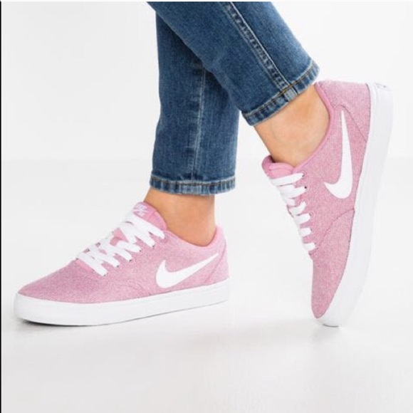 Nike Shoes | Nike Sb Check Pink Sneaker